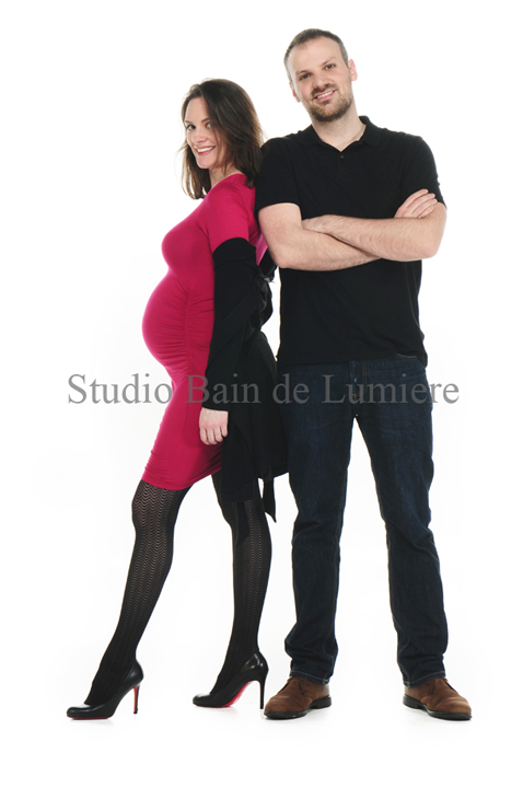 shooting couple grossesse