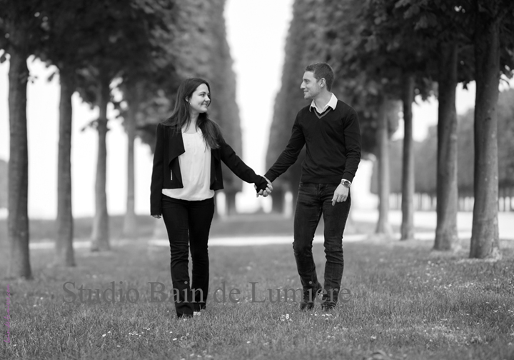 shooting photo couple exterieur