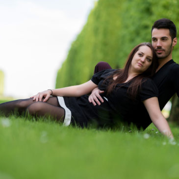 Shooting photo couple exterieur