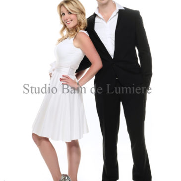 Informations et prix du shooting photo couple chez studio Bain de Lumière